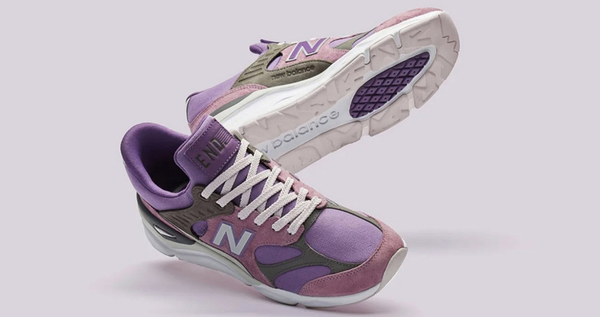 END. And New Balance Collaborate Between Themselves By Inspirition Of X-90 Collection 03