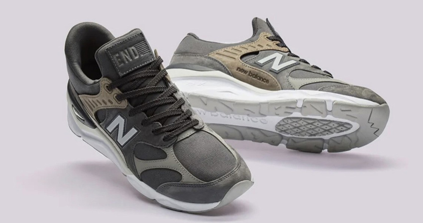 END. And New Balance Collaborate Between Themselves By Inspirition Of X-90 Collection 04
