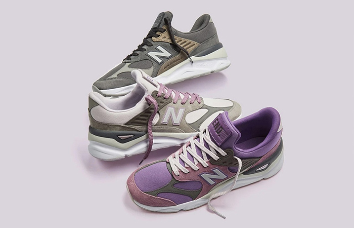 END. And New Balance Collaborate Between Themselves By Inspirition Of X-90 Collection ft
