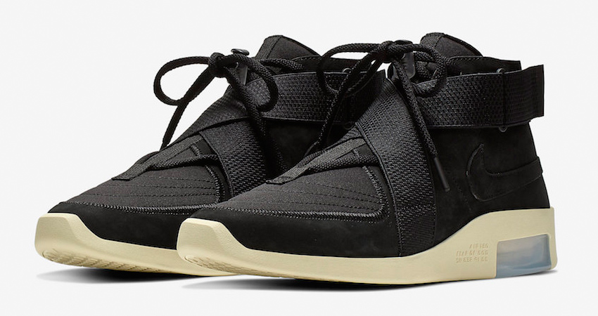 Here Is The Official Look Of Nike Air Fear of God 180 Black Fossil 01