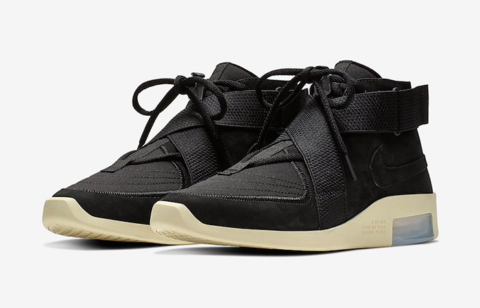 Here Is The Official Look Of Nike Air Fear of God 180 Black Fossil ft
