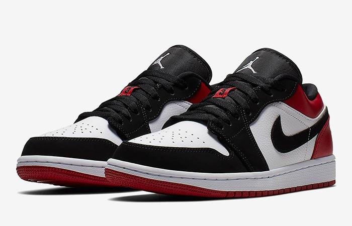 Jordan 1 Low Black Red 553558-116 02
