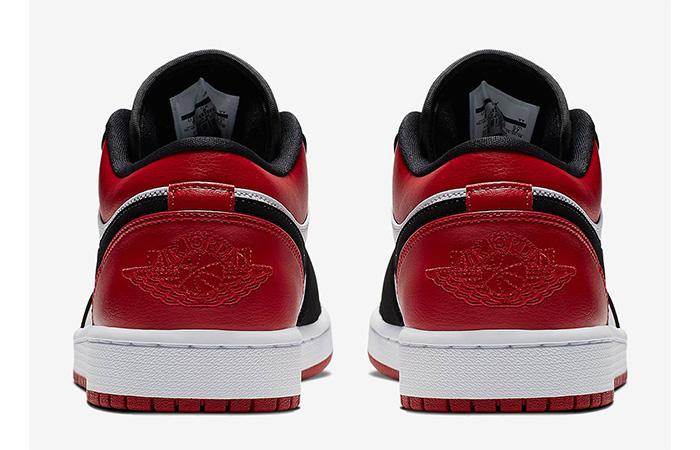 Jordan 1 Low Black Red 553558-116