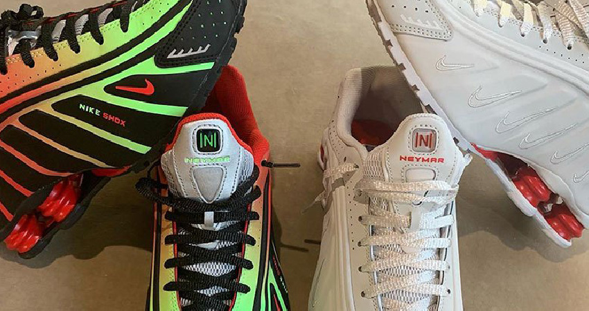 7020ed01ed36b Neymar Jr. Teases Collaborated With Nike Shox R4 Sneakers – Fastsole