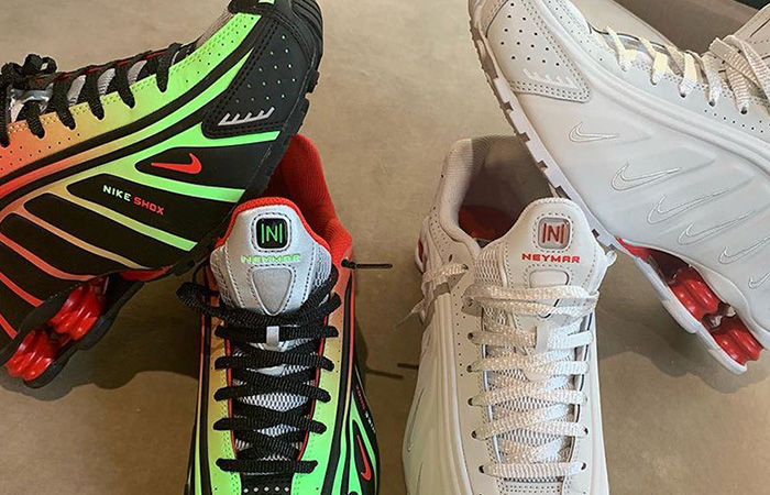 c0db48e087f31 Neymar Jr. Teases Collaborated With Nike Shox R4 Sneakers