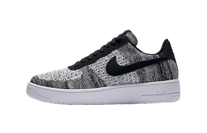 Nike Air Force 1 Flyknit 2.0 Black AV3042-001 01
