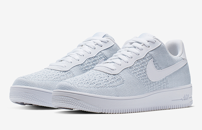 Nike Air Force 1 Flyknit 2.0 White AV3042-100 03