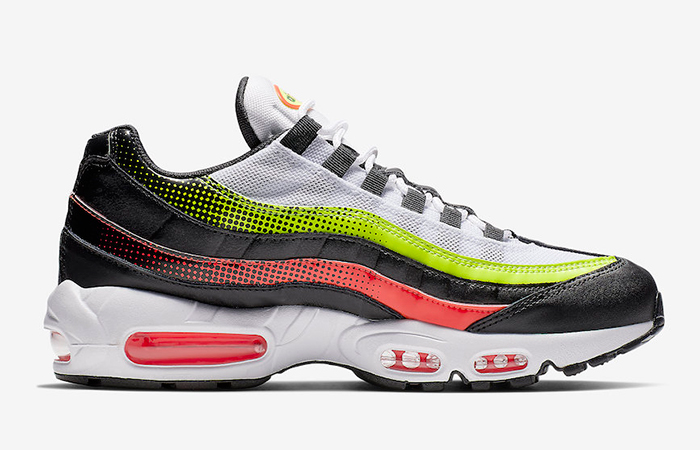Nike Air Max 95 White Black Volt AJ2018-004