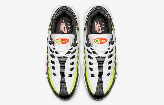 Nike Air Max 95 White Volt AJ2018-004