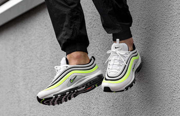 Nike Air Max 97 White Black Volt AQ4126 101