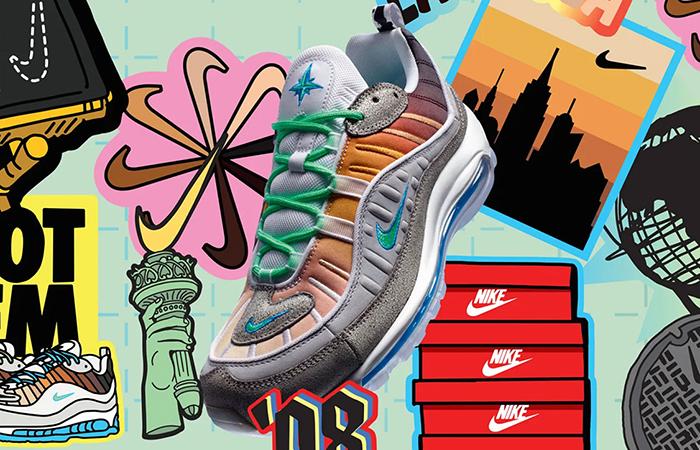 Nike Air Max 98 La Mezcla CI1502-001 0
