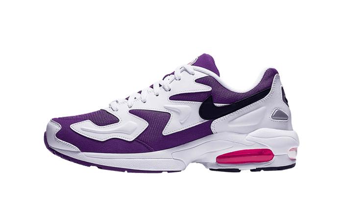 Nike Air Max2 Light Purple White AO1741-103 01