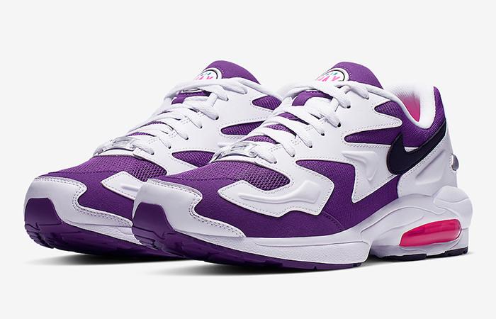 Nike Air Max2 Light Purple White AO1741-103 02