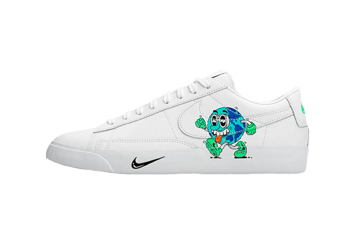 Nike Blazer Low Earth Day Pack White CI5546-100 01