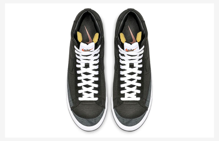 Nike Blazer Mid Black Canvas CD8238-001 03