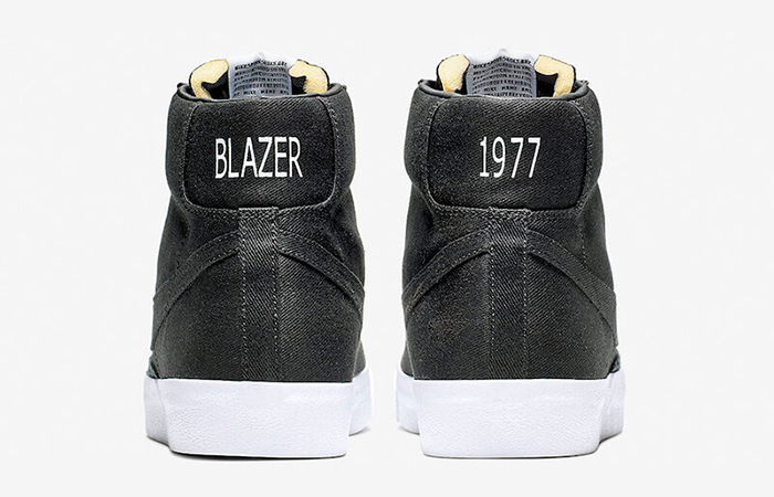 Nike Blazer Mid Black Canvas CD8238-001