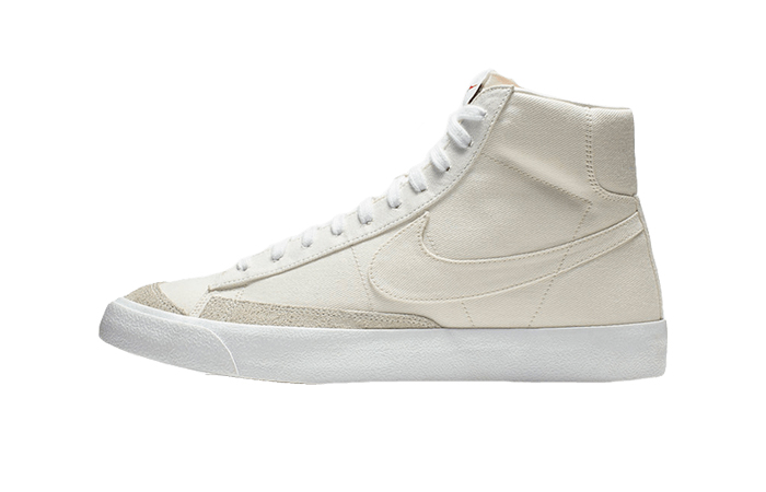 Nike Blazer Mid White Canvas CD8238-100 01