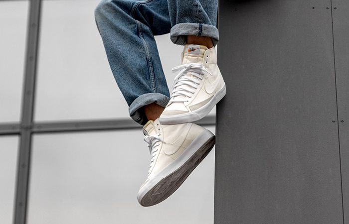 Nike Blazer Mid White Canvas CD8238-100 02