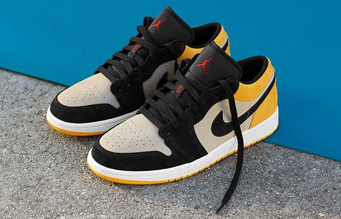 le dernier a8d6a c24d3 Nike Jordan 1 Low University Gold