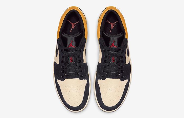 Nike Jordan 1 Low University Gold 553558-127