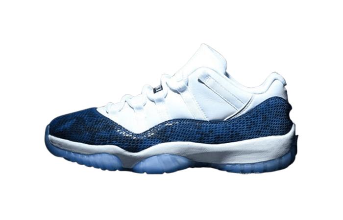 Nike Jordan 11 Low White Blue CD6846-102 01