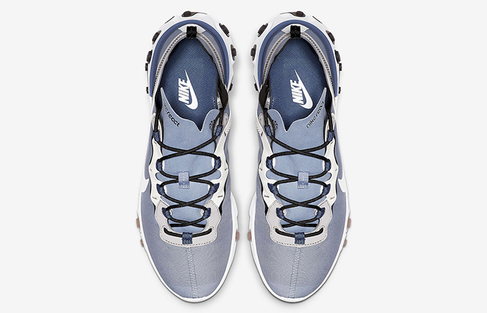 free shipping ac141 59b82 ... Nike React Element 55 Light Navy BQ6166-402 ...