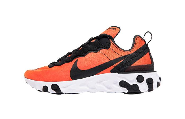 Nike React Element 55 Orange Black BQ9241-001 01