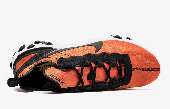 Nike React Element 55 Orange Black BQ9241-001 02
