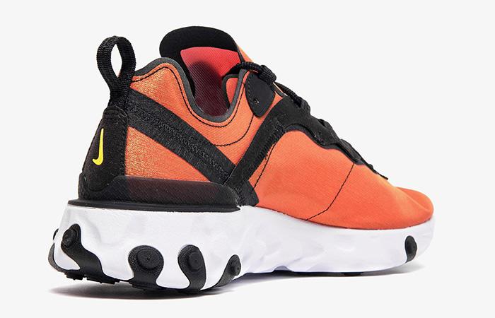 Nike React Element 55 Orange Black BQ9241-001 03