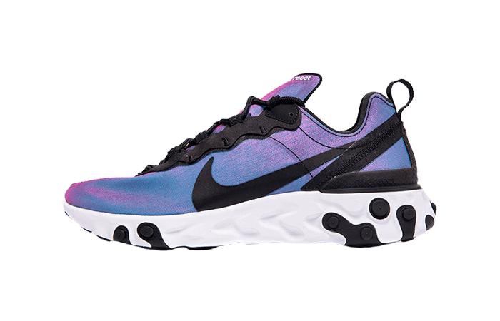 cristiano cosecha Memoria  Nike React Element 55 Purple Black BQ9241-002 – Fastsole