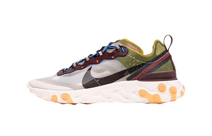 Nike React Element 87 Dusty Peach AQ1090-200 01