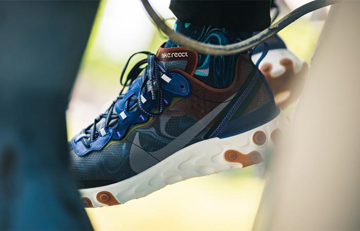 Nike React Element 87 Dusty Peach AQ1090-200 02