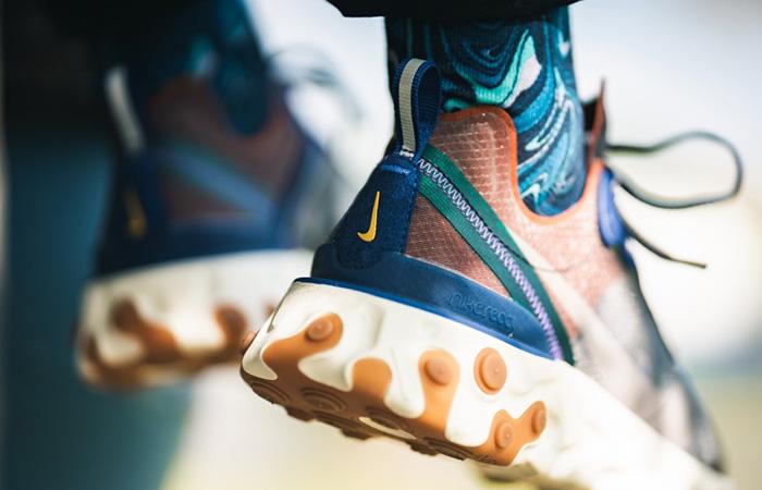 Nike React Element 87 Dusty Peach AQ1090-200