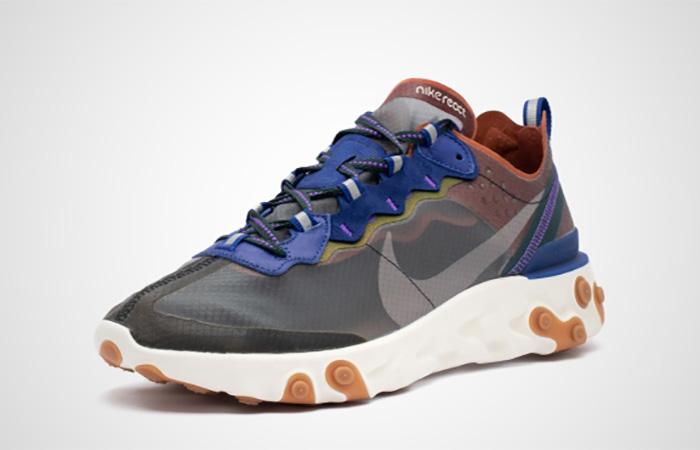 Nike React Element 87 Peach AQ1090-200
