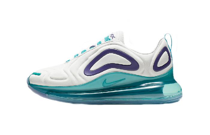 Nike Womens Air Max 720 Blue White AR9293-100 01