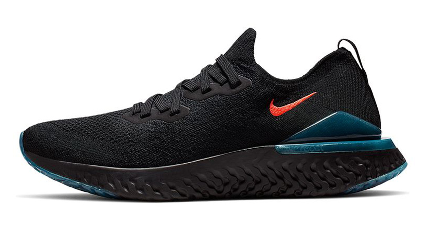 f44cc5a6d250a Nike s Epic React Flyknit 2 Showing You The Hit Of Blue Fury   Bright  Crimson 02