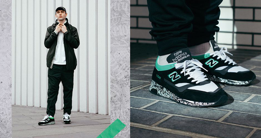 The New Balance M1500 London Marathon Coming With A Black Mint Look 01