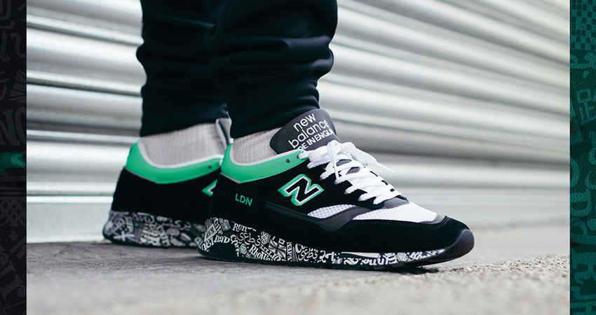 The New Balance M1500 London Marathon Coming With A Black Mint Look 02