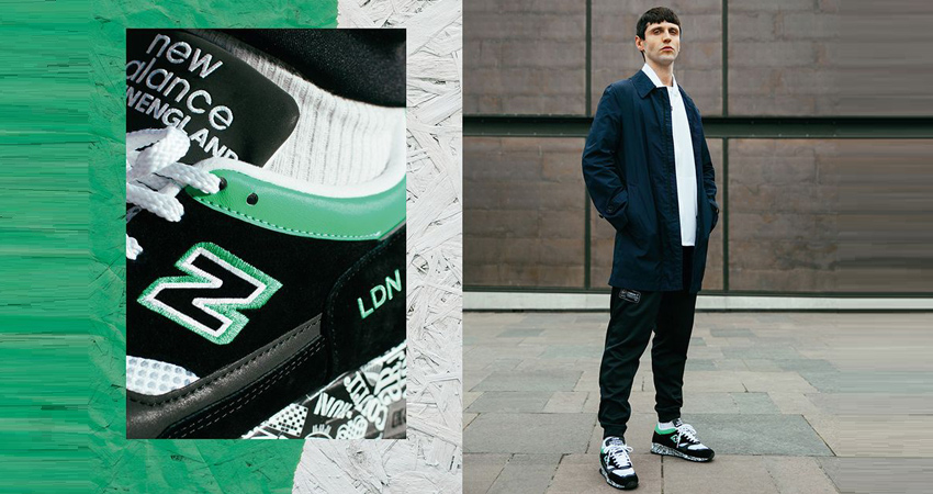 The New Balance M1500 London Marathon Coming With A Black Mint Look 04