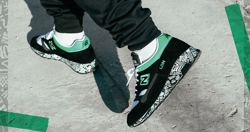 The New Balance M1500 London Marathon Coming With A Black Mint Look 05