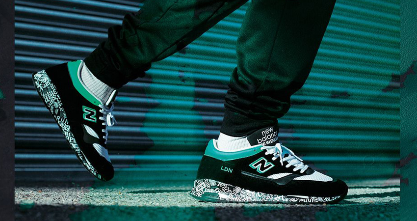 The New Balance M1500 London Marathon Coming With A Black Mint Look 08