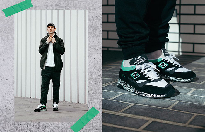The New Balance M1500 London Marathon Coming With A Black Mint Look ft