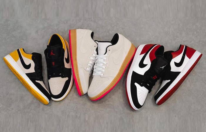 The Top Colourways Of Nike Air Jordan 1 Low Collection ft
