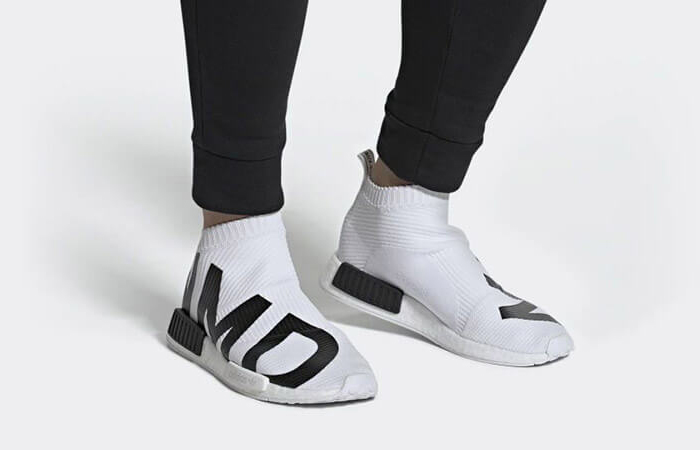 uk availability 40855 5dc67 adidas NMD CS1 Primeknit Cloud White EG7538