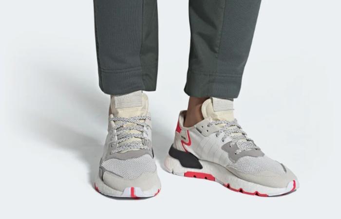 adidas Nite Jogger Red White F34123 02