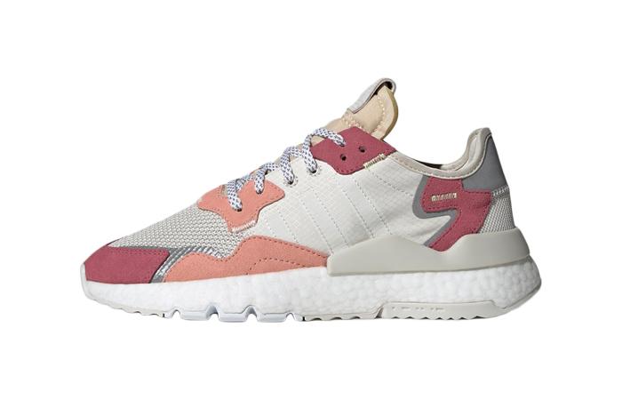 adidas Nite Jogger White Pink DA8666 01