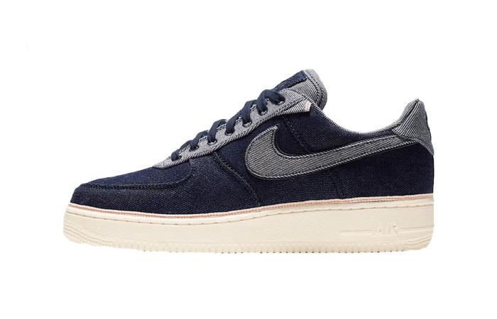 3×1 Nike Air Force 1 Low Denim 905345-402 01
