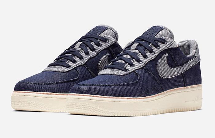 3×1 Nike Air Force 1 Low Denim 905345-402 02