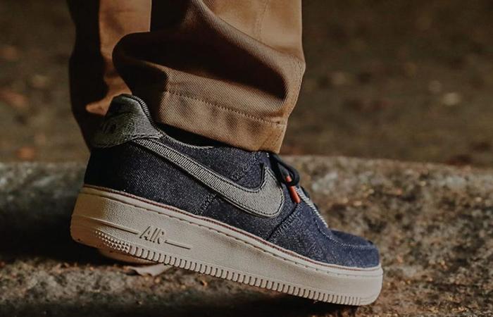 Release Date: 3×1 x Nike Air Force 1 Low Selvedge Denim