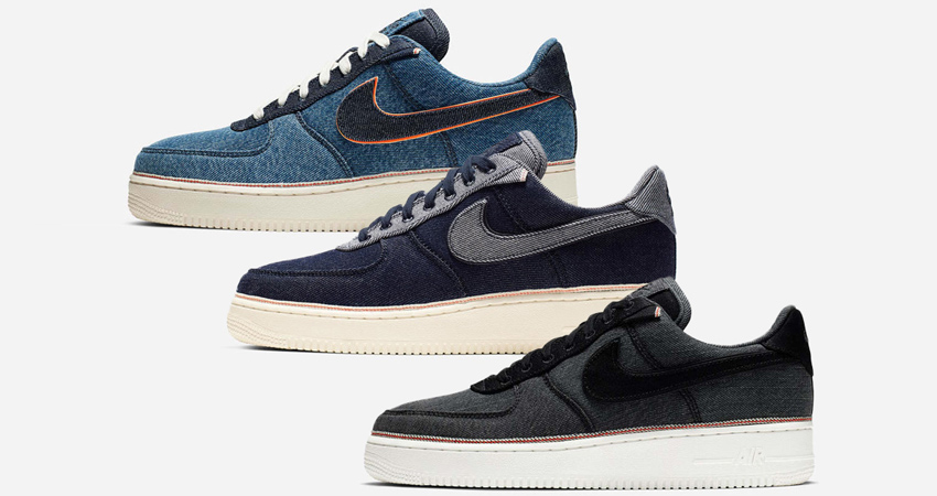 3×1 Nike Air Force 1 Low Is Releasing With 3 New Touch